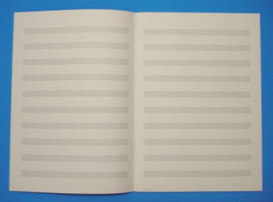 五線帳 10段 No.257-10