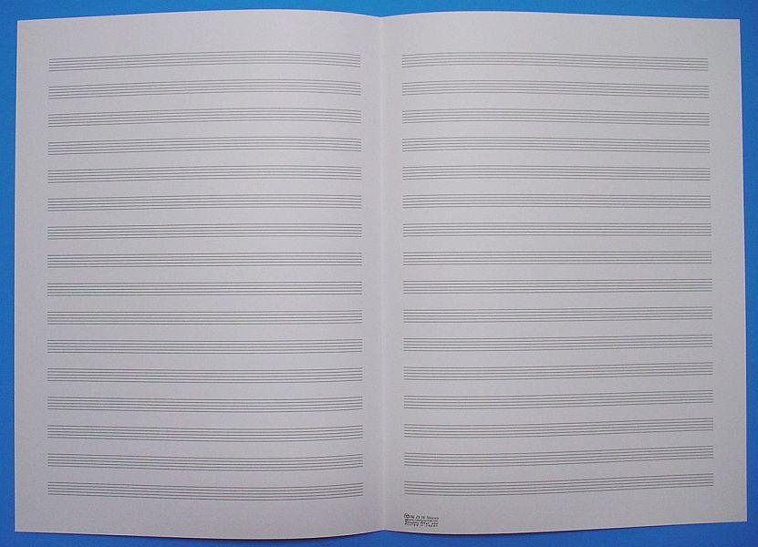 五線紙 16段 No.23-16