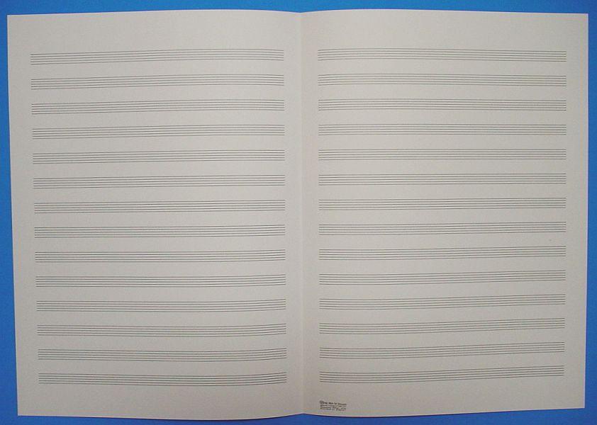 五線紙 14段 No.36A-14