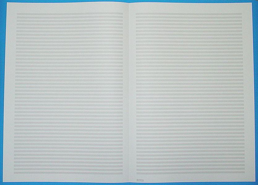 五線紙 46段 No.39-46