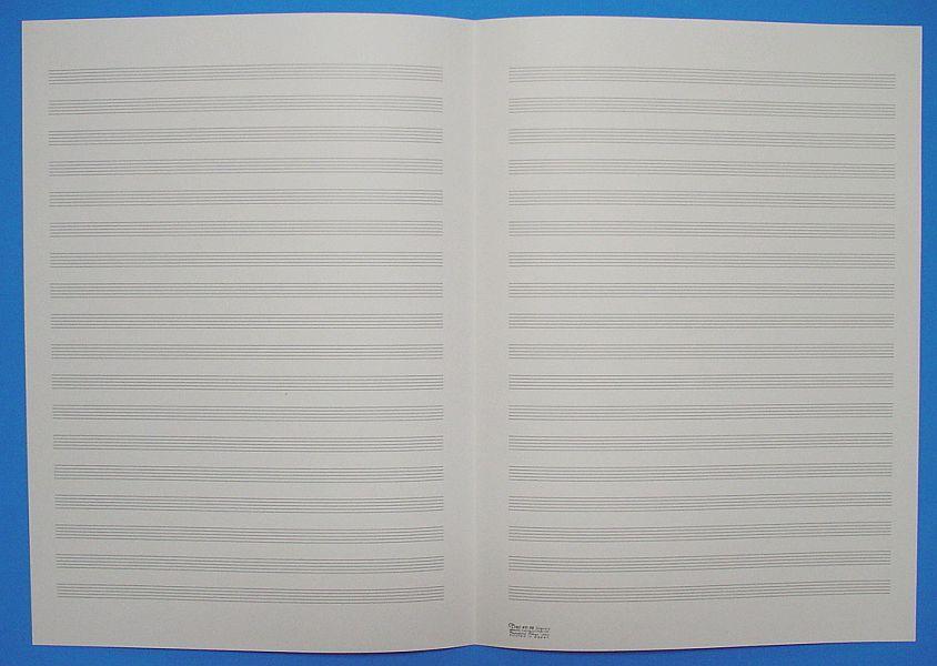 五線紙 18段 No.40-18
